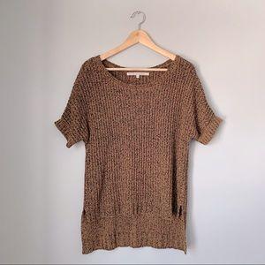 Rachel Roy High Low Marled Knit Tee
